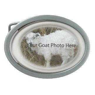 SU de la perla de la cabra de la foto hebilla del Hebilla De Cinturon