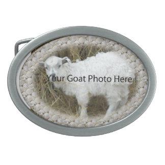 SU de los Seashells de la cabra de la foto hebilla Hebillas Cinturón Ovales
