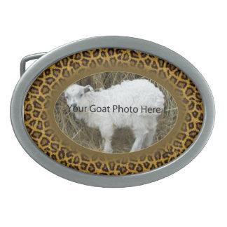 SU del guepardo de la cabra de la foto hebilla del Hebilla De Cinturon