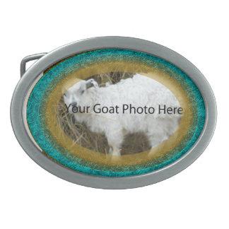 SU del trullo y del oro de la cabra de la foto heb Hebilla De Cinturón