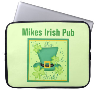 Su diversión a ser el día de St Patrick del irland Fundas Portátiles