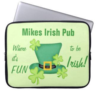 Su diversión a ser el día de St Patrick del irland Fundas Computadoras