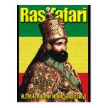 Su emperador imperial Haile Selassie I de la altez Tarjeta Postal