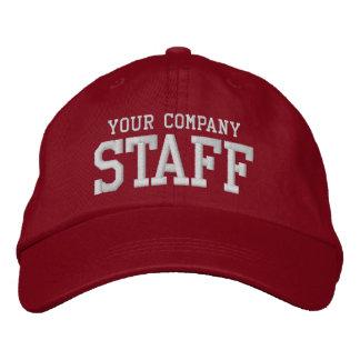 Su empleado promocional del márketing del personal gorras de béisbol bordadas