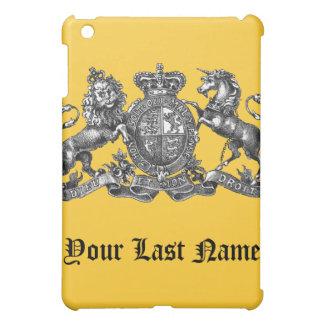 Su escudo de la familia en un caso del iPad