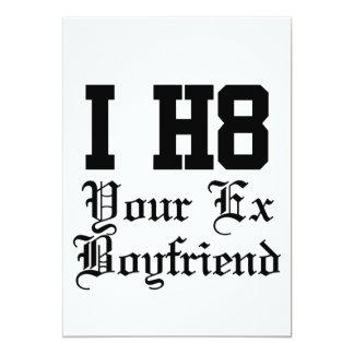 su ex novio invitación 12,7 x 17,8 cm