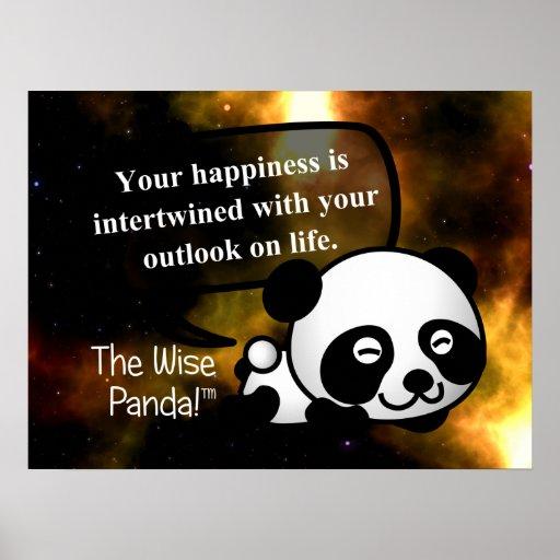 Su felicidad depende de su perspectiva el vida posters
