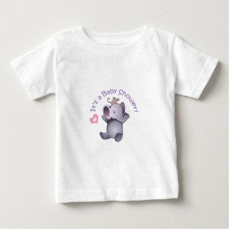 Su fiesta de bienvenida al bebé t-shirts