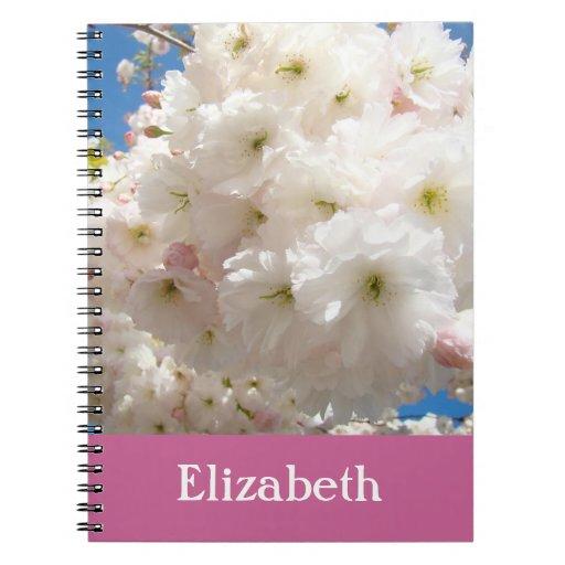 Su flor rosado de los cuadernos conocidos florece