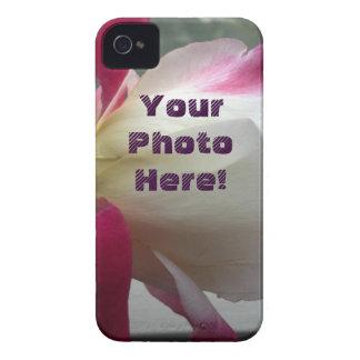 ¡Su foto aquí!  Caja intrépida de Blackberry Case-Mate iPhone 4 Protectores