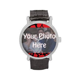 Su foto aquí relojes de mano
