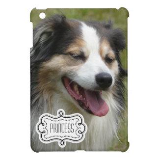 Su foto del MASCOTA con el nombre personalizado iPad Mini Protector