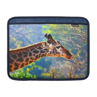 SU FOTO - personalizado 13 de la jirafa en caso de Funda Para Macbook Air