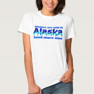 Su frío en Alaska Polera