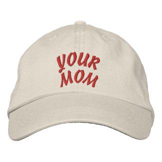 SU gorra de la MAMÁ Gorras Bordadas