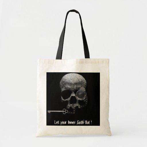 Su gótico interno bolsa tela barata
