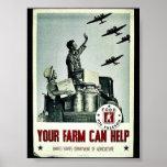 Su granja puede ayudar poster