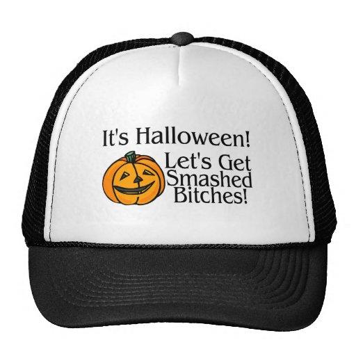 Su Halloween deja para conseguir roto Gorras De Camionero