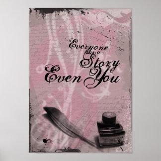 Su historia póster