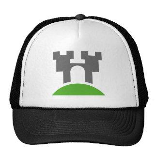 Su hogar es su gorra de béisbol del castillo