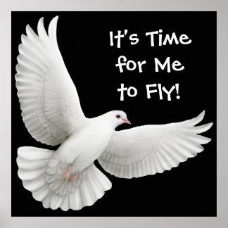 Su hora para que yo vuele el poster de la paloma