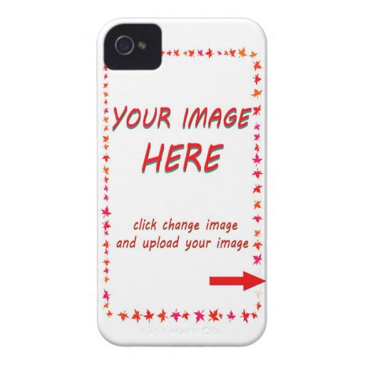 Su imagen aquí Case-Mate iPhone 4 cárcasa