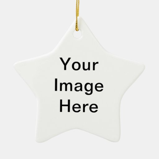 Su imagen aquí adorno de cerámica en forma de estrella