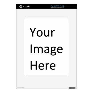 Su imagen aquí iPad skin