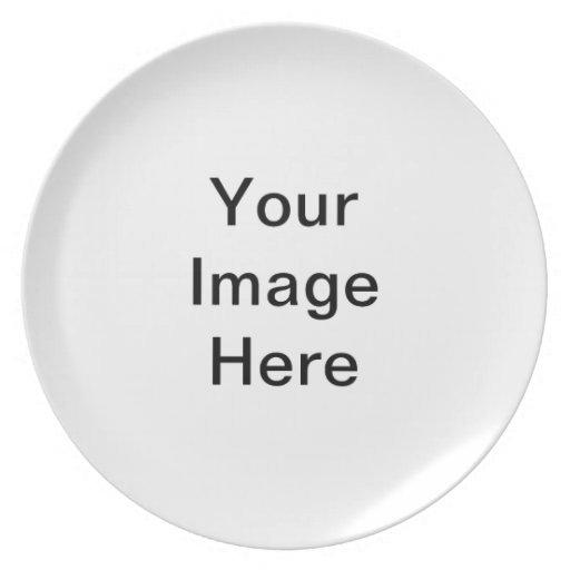 Su imagen aquí plato