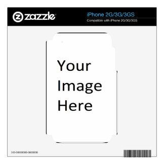 Su imagen aquí skin para el iPhone 3GS