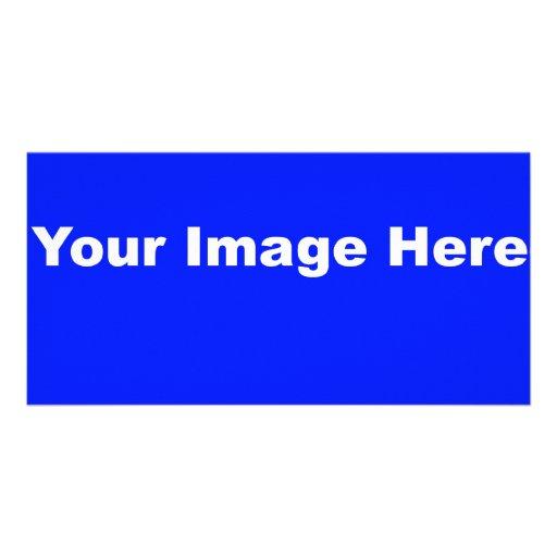 Su imagen aquí tarjetas fotográficas personalizadas