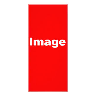 Su imagen aquí tarjeta publicitaria a todo color