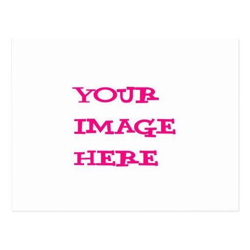 Su imagen aquí tarjetas postales