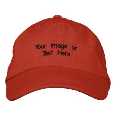 Su imagen o texto aquí - modificado para requisito gorras de béisbol bordadas