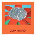 ¡Su invitado! Invitación 13,3 Cm X 13,3cm