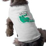 Su la media camisa del perro ropa perro
