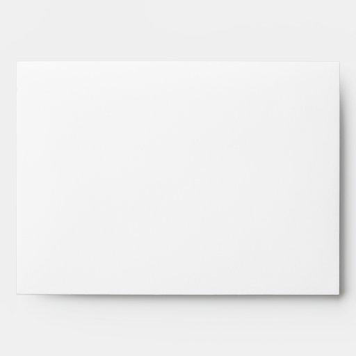 Su letra. Monograma de encargo. Blanco y negro Sobres