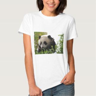 Su Lin, cachorro de oso de panda gigante en el Remera