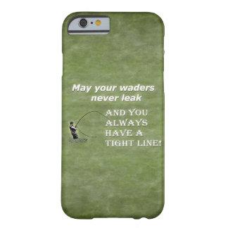 Su línea apretada de las aves zancudas el |; Cita Funda Barely There iPhone 6