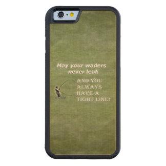 Su línea apretada de las aves zancudas el |; Cita Funda De iPhone 6 Bumper Arce