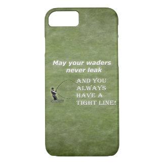 Su línea apretada de las aves zancudas el |; Cita Funda iPhone 7
