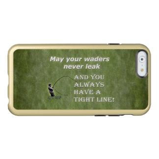 Su línea apretada de las aves zancudas el |; Cita Funda Para iPhone 6 Plus Incipio Feather Shine