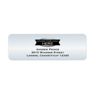 Su logotipo de encargo del negocio personalizado etiquetas de remite