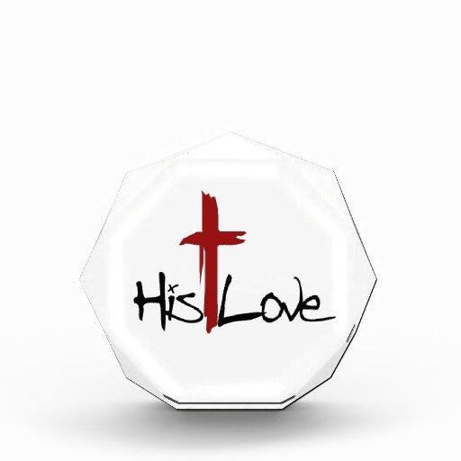 Su logotipo de la cruz del amor