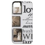 ¡Su lona de encargo del boda! iPhone 5 Case-Mate Protector