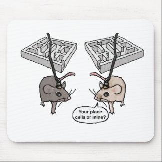 ¿Su lugar (células) o mina? Alfombrillas De Raton