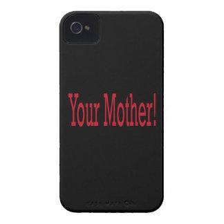 Su madre Case-Mate iPhone 4 carcasa