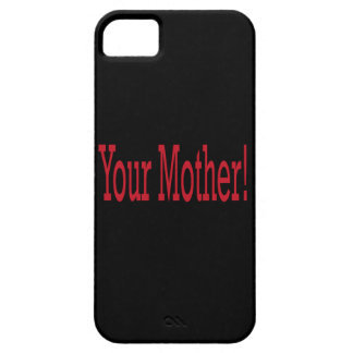Su madre funda para iPhone 5 barely there