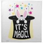Su magia servilleta