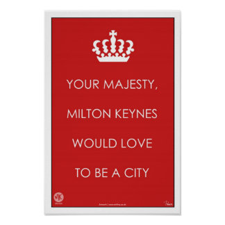 Su majestad, arte del poster del MK/impresión